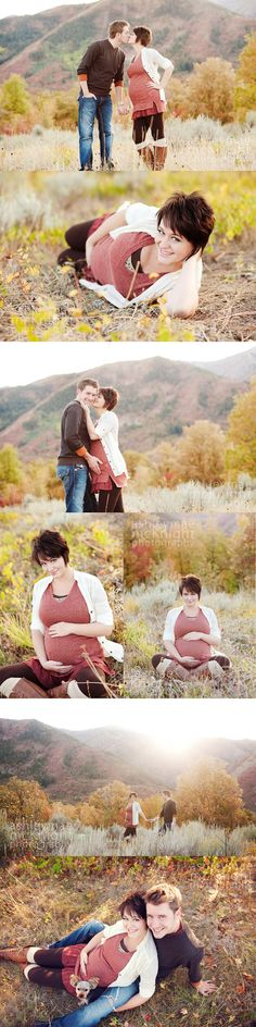 Maternity Photography. Utah Mountains. Staci's Belly Pictures.