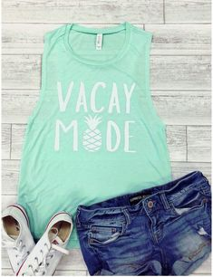 About Etsy Vacation mode TANK TOP Made To Order, we print one by one so we can control the quality.We use DTG Technology to print Etsy Vacation mode TANK TOP Family Vacation Shirts, Family Shirts, Vinyl Shirts, Tee Shirts, Tees, Beach T Shirts, Hawaii Shirts, Mode Top, Travel Shirts