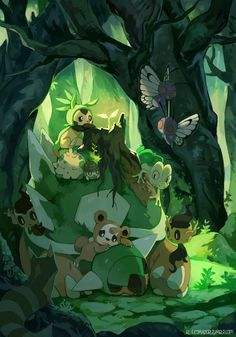 Discovered by Eevee-chan. Find images and videos about pokemon, butterfree and chespin on We Heart It - the app to get lost in what you love. Pokemon Fan Art, Pokemon Go, Pokemon Kanto, Pokemon Legal, Pokemon Pocket, Nintendo Pokemon, Type Pokemon, Pokemon Stuff, Pokemon Images