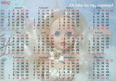 Το ημερολόγιο του 2017 με τη bibi-bo! The calendar 2017 by bibi-bo! Le calendrier 2017 par bibi-bo! Der Kalender 2017 von Bibi-bo! Il calendario 2017 di bibi-bo!