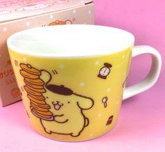 Sanrio PROMO (Pom Pom Purin) Dog❤︎ SMBC Bank Ceramic Mug ❤︎MIB Hello Kitty Rare #Sanrio