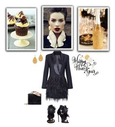 """""""Alina"""" by dragonfly-lt ❤ liked on Polyvore featuring Dsquared2, RALPH & RUSSO and Anne Sisteron"""