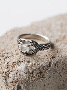 Moonstone Deco Ring - Free People