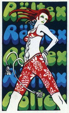 Röltex (Hongrie) 1972 #jetudielacom