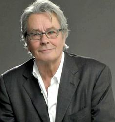 Damn, the sob is STILL handsome! Hate him, lol - Alain Delon - 79 ✿⊱╮JS