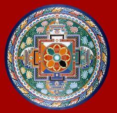 Quan Yins Temple Mandala