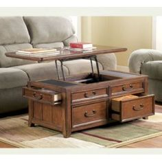 lift top coffee table - pull out coffee table. lazy boy furniture