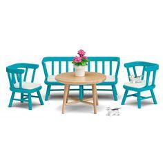 Blue Kitchen Furniture Set, Småland