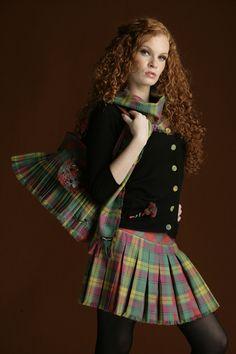 Mini Kiltie Skirt