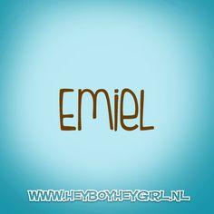 Emiel (Voor meer inspiratie, en unieke geboortekaartjes kijk op www.heyboyheygirl.nl)