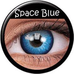 Remis en stock / Back in stock: Contact lenses Space Blue Phantasee (annuals) Prix: 29.90 #new #nouveau #japanattitude #lenses #lentilles #