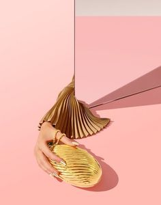 #gold #miroir #pink