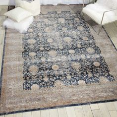 kathy ireland by Nourison Vintage Pattern Area Rug 710W x 1010D | National Business Furniture