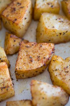 Our favorite way to roast potatoes with the easiest seasonings!
