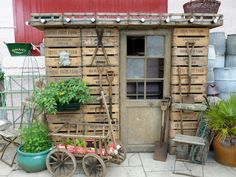 recycled garden shed