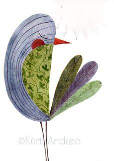 draw a face Bird Illustration, Illustrations, Fabric Postcards, Wool Art, Bird Patterns, Bird Drawings, Pretty Birds, Bird Art, Watercolor Paintings