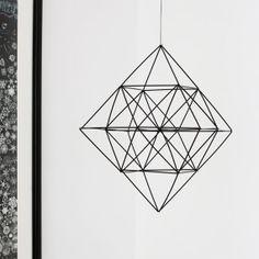 Himmeli Diamond Modern Hanging Mobile