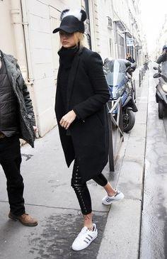 See How Gigi Hadid Styles A Pom Pom Cap