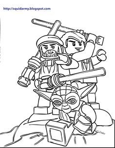 Top 25 Free Printable Star Wars Coloring Pages Online | Coloring ...
