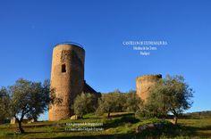 Castillo de Medina de las Torres Badajoz Spain.