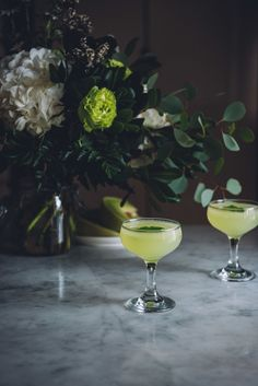 The Last Hope: a Honeydew Cucumber Gin Cocktail