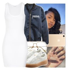 """"""""""" by leshabest ❤ liked on Polyvore featuring Puma, American Vintage, Yeezy, fenty and iPhone7"""