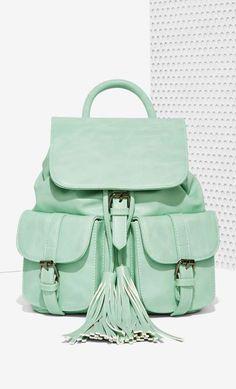Nasty Gal x Nila Anthony Azalea Cargo Backpack