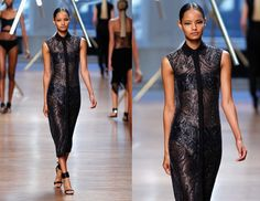 """Jason Wu, Look 37 - """"I'm loving this Jason Wu dress - it's such a fresh take on sequins.""""Photo: Getty Images"""