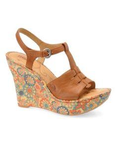 Born Shoes, Rebecka Wedge Sandals