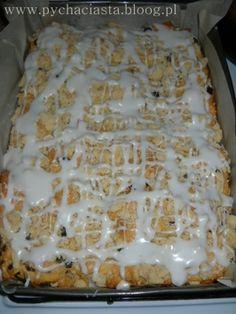 Ciasto drożdżowe z kruszonką (przepis II) - Drożdżowe - Coś słodkiego, poproszę... - bloog.pl