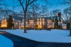 14000 square foot french tudor mansion in glen head ny