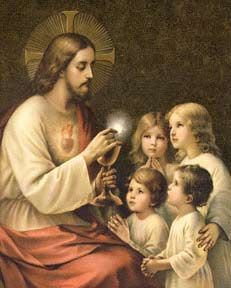 """ADORE TE DEVOTE - This Eucharistic Hymn was written in 1260 by St. Thomas Aquinas - """"Godhead, here in hiding, Whom do I adore...."""""""