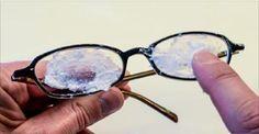 Passe isto nos seus óculos e elimine todas as manchas e arranhões - como se fosse mágica! | Cura pela Natureza