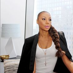 Look who stopped by Allure HQ with an amazing braid: Tamar Braxton!   allure.com