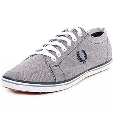 Fred Perry Kingston 2 Tone Canvas B8206608, Herren Sneaker - http://on-line-kaufen.de/fred-perry/fred-perry-kingston-2-tone-canvas-b8206608-herren