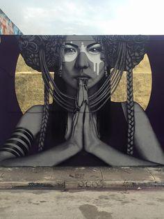 'The Sun Goddesses'   Streetartist