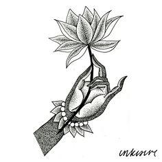 mudra + lotus
