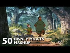 50 Disney Movies Mashup - All I Want For Christmas Is You - WTM - YouTube