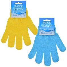 April Bath Shower Exfoliating Gloves