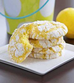 Lemon crackle #cookies