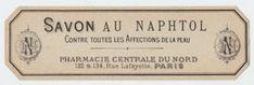 Paris Soap Label - The Graphics Fairy