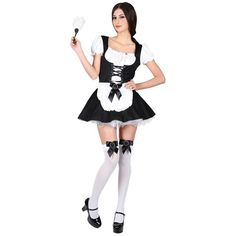 Flirty French Maid Costume | LoveJoy Adult Sex Toys | Ireland
