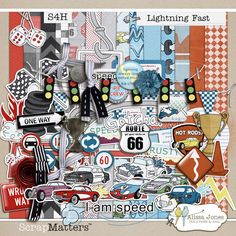 Lightning Fast by Alissa Jones  http://shop.scrapmatters.com/lightning-fast-by-alissa-jones.html