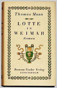 Thomas Mann Charlotte in Weimar