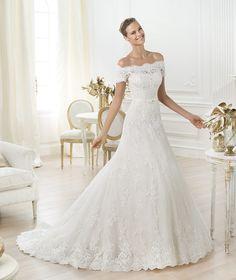 Pronovias ti presenta l'abito da sposa Letour. Costura 2014. | Pronovias