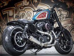 Motorcycle harley davidson chopper custom bobber 70 Ideas for 2019 Harley Davidson Chopper, Harley Davidson Sportster, Sportster 48, Custom Sportster, Custom Bobber, Sportster Parts, Harley 48, Harley Bobber, Chopper Motorcycle