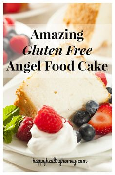 Are you looking for an amazing, and easy gluten free angel food cake recipe? Look no further! This is the perfect summertime cake!