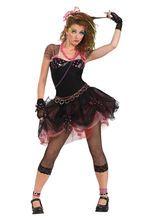 Das 80er Disco Punk Damen Kostüm schwarz, aus unserer Kategorie 80er Jahre Kostüme versetzt Sie zurück in das wildeste und verrückteste Jahrzehnt unserer Zeit. Bunt, schrill und einzigartig - dieses 80er-Outfit macht Sie zur #Punkerin des Abends auf jeder #Party!