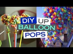 DIY: Up-Inspired Balloon Bouquet Pops | Living