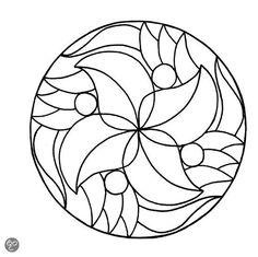 Mandala Kleurplaten Inkleuren.8 Beste Afbeeldingen Van Mandala S Om In Te Kleuren